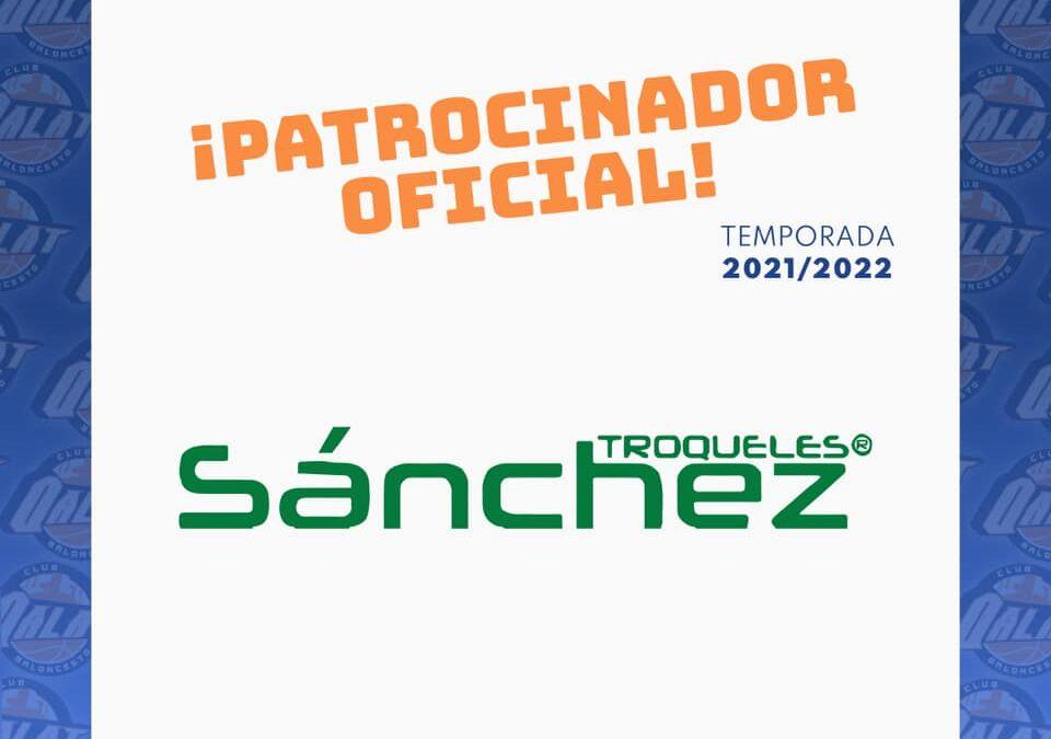 TROQUELES SÁNCHEZ es la nueva incorporación al grupo de patrocinadores de nuestro club.